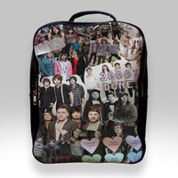 Backpack for Student - All Time Low Collage Art Bags