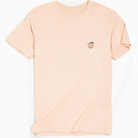 Embroidered Peach Tee | Urban Outfitters