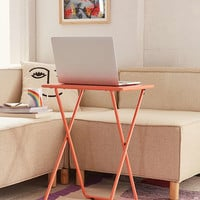 Metal Folding Tray Table - Urban Outfitters