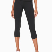 scallop crop legging | Kate Spade New York