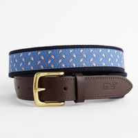 Canvas Belts for Men: Lacrosse Canvas Club Belt – Vineyard Vines