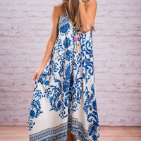 Get In Sublime Maxi Dress, Royal Blue