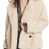 Free People Teddy Peacoat | Nordstrom
