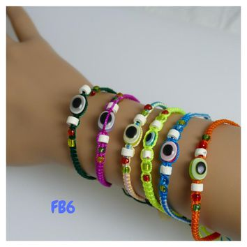 100 Friendship Bracelets Assorted Model FB6 Peruvian Friendship Bracelets
