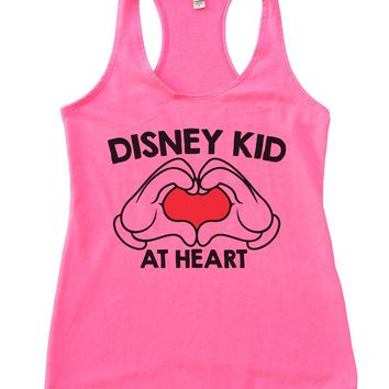 Disney Kid at Heart Womens Workout Tank Top