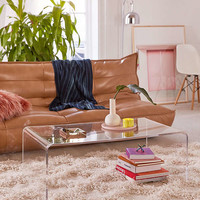Miotto Acrylic Curve Coffee Table | Urban Outfitters