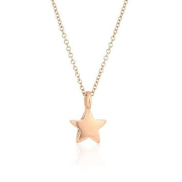 Star Necklace with Inspirational Message Card