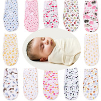 Baby Bedding Swaddle Baby Swaddle Wrap Envelope for Newborns 100% Cotton Soft Infant Blanket & Swaddling Wrap Blanket Sleepsack