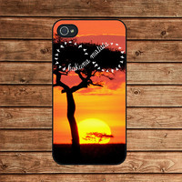 Hakuna Matata infinity --iphone 4 case,iphone 4s case ,in plastic or silicone case