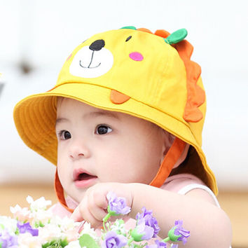 Baby So Cute Bear Shape Fisherman Cap Comfortable Hot Summer Gift 47