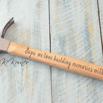 Custom hammer/Personalized Mens Gift/Father of the Bride/Groom Gift/Rustic Wedding/Best Man Gift/Father's day/Hammer/Custom hammer/Logo