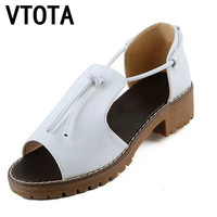 VTOTA Shoes Woman Fashion Sandals Women Wedges Open Toe Platform Women Sandals Soft Comfortable Women Shoes tenis feminino X420