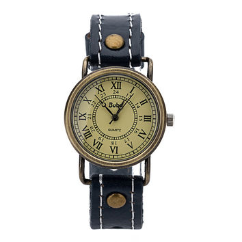 Hot Vintage Fashion Quartz Classic Watch Round Ladies Women Men Wristwatch Michael Kor Like On Sales = 4785461188