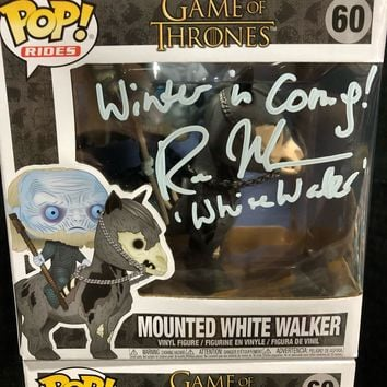 Mounted White Walker *Autographed*