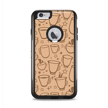 The Vintage Vector Coffee Mugs Apple iPhone 6 Plus Otterbox Commuter Case Skin Set