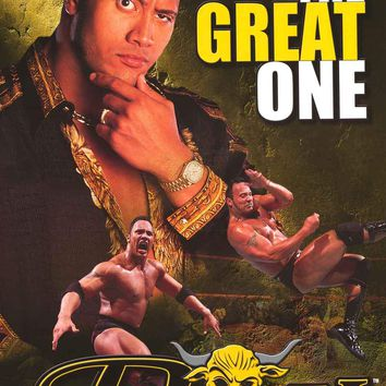The Rock Great One 2000 WWF Wrestling Poster 22x34