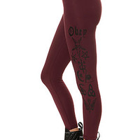 The Obey Secrets Legging in Truffle
