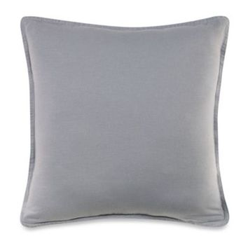 Kenneth Cole Reaction Home Mineral Square Throw Pillow in Stoney Blue