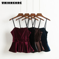 Women Camisole Velvet Solid Colors Vintage Lady Sunmmer Beach Crochet Lace Bralette Knitted Bra Boho Halter Cami Tank Crop Top