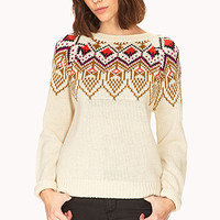 Neon Fair Isle Sweater