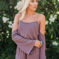 Desert Sun Off The Shoulder Romper