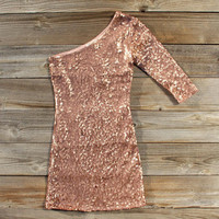Rose Gold Party Dress