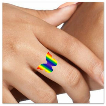 Temporary Tattoo 5 Pride Waterproof Fake Tattoos Thin Durable