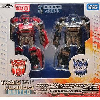 Transformers United UN-27 Windcharger Vs Decepticon Wipeout Takara Tomy 2 pack