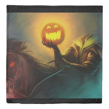 headless horseman duvet cover