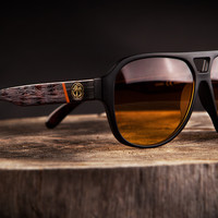 Supercat 1.5 Sunglasses: Wood Grain Customs