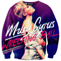 Miley Cyrus Wrecking Ball Crewneck