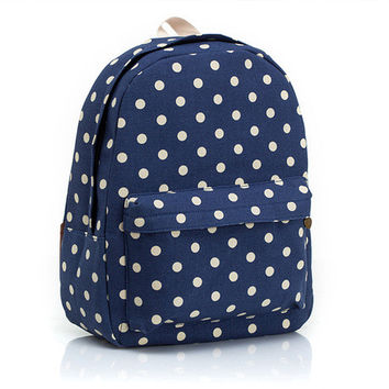 Canvas Korean Backpack = 4887404932