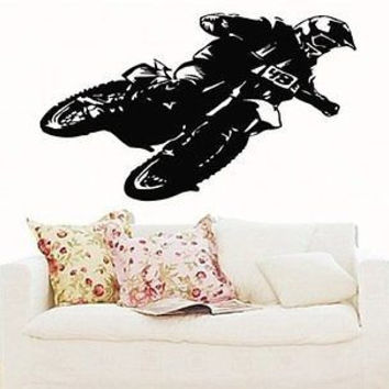 Motocross Dirt Bike Wall Art Sticker Decal 5311