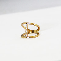 Connect the Diamonds Ring
