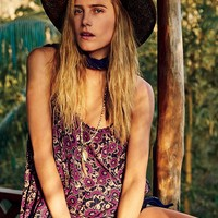Free People FP One Printed Drippy Strappy Tank