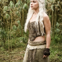 Game of Thrones Daenerys Targaryen Dothraki Cosplay Costume