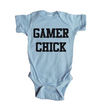 Gamer Chick Baby Onesuit