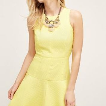 Donna Morgan Limone Dress in Yellow Size: