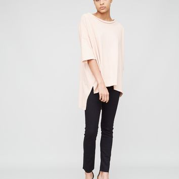 Wide Tee in Petal by OAK