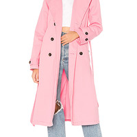NSF Dorian Trench in Pigment Rose