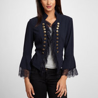 ideeli | INSIGHT Lace Trim Jacket