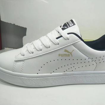 """Puma"" Men Sport Casual Fashion Plate Shoes Sneakers"