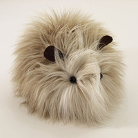 Guinea Pig Stuffed Plushie LuLu Large Size by Zygopsyche on Etsy