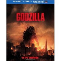 Godzilla (2014) (Blu-ray Disc) (2 Disc) (Ultraviolet Digital Copy) (Enhanced Widescreen for 16x9 TV) (Eng/Fre/Spa)