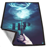 stag patronus harry potter c2747d7f-c9fd-49b3-9498-850c59b8cae9 for Kids Blanket, Fleece Blanket Cute and Awesome Blanket for your bedding, Blanket fleece *02*