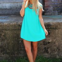 Charlotte's Web Dress {Emerald}