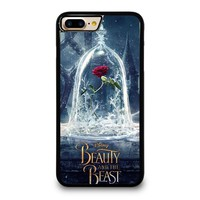 beauty and the beast rose in glass iphone 4 4s 5 5s se 5c 6 6s 7 8 plus x case  number 1