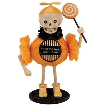 Bethany Lowe Sweet and Sour Skeleton Figurine