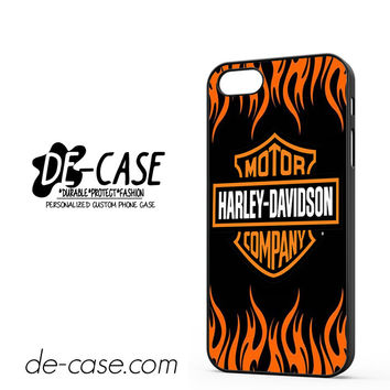 Harley Davidson Flame Logo DEAL-5044 Apple Phonecase Cover For Iphone 5 / Iphone 5S