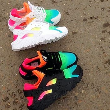 NIKE Huarache Contrast Colorful Fashion Men Running Sport Casual cd10ed5a8e